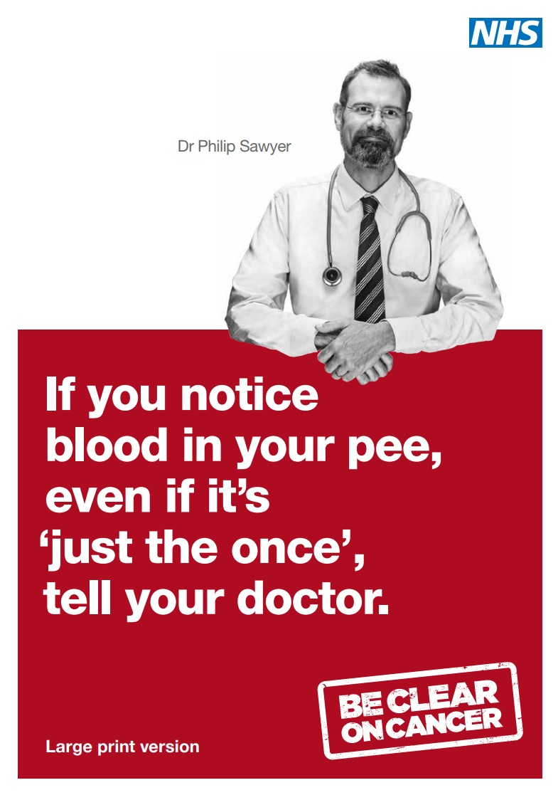 Blood in Pee | Be Clear on Cancer