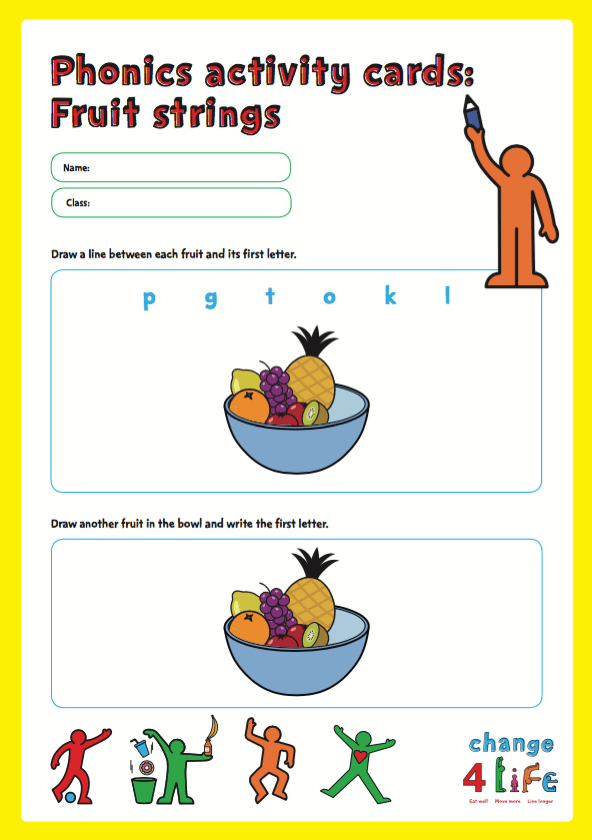 Our Healthy Year: Reception classroom activity sheets | PHE ...