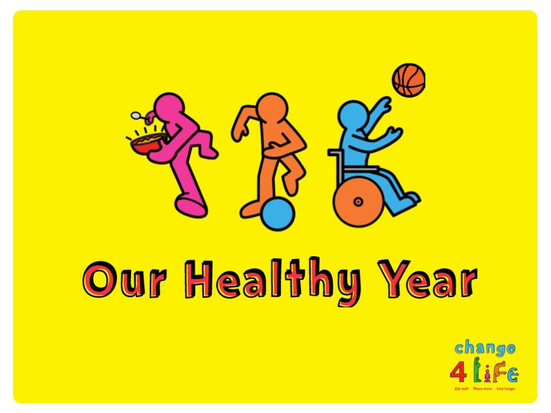 Our Healthy Year: Reception presentations