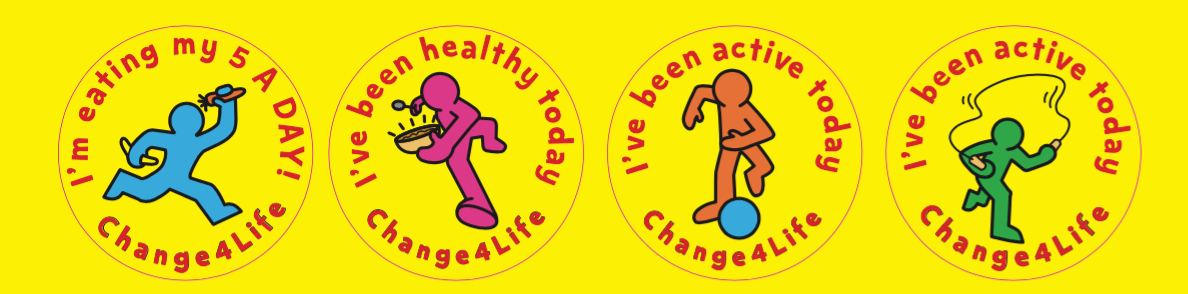 Our Healthy Year stickers