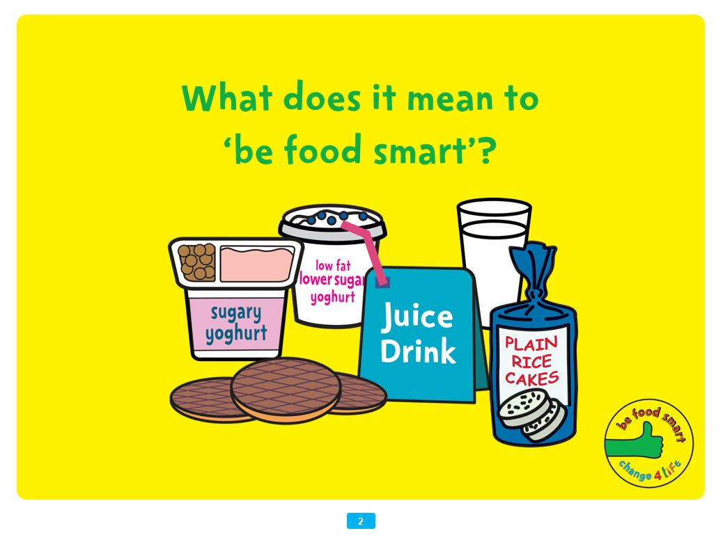Be Food Smart: assembly presentation