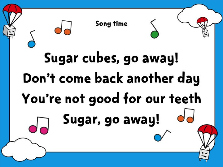 Sugar Smart World – KS1 English lesson PowerPoint