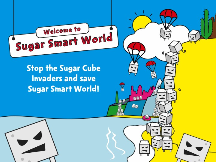 Sugar Smart World – KS1 Maths lesson Powerpoint