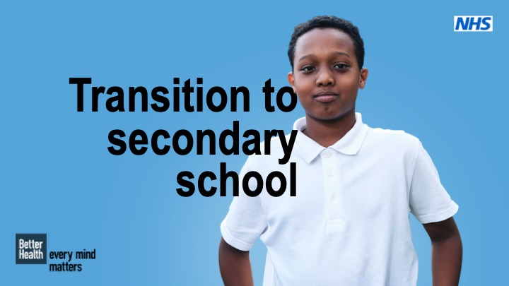 Transition to secondary school lesson plan