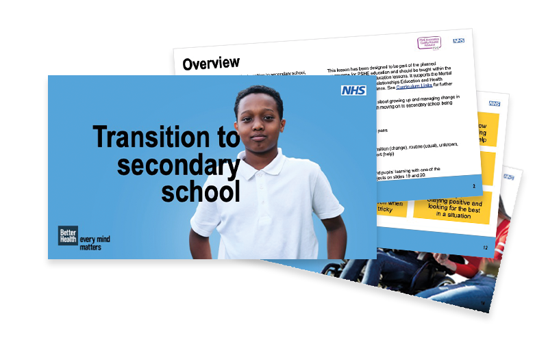 Transition to secondary school lesson plan pack