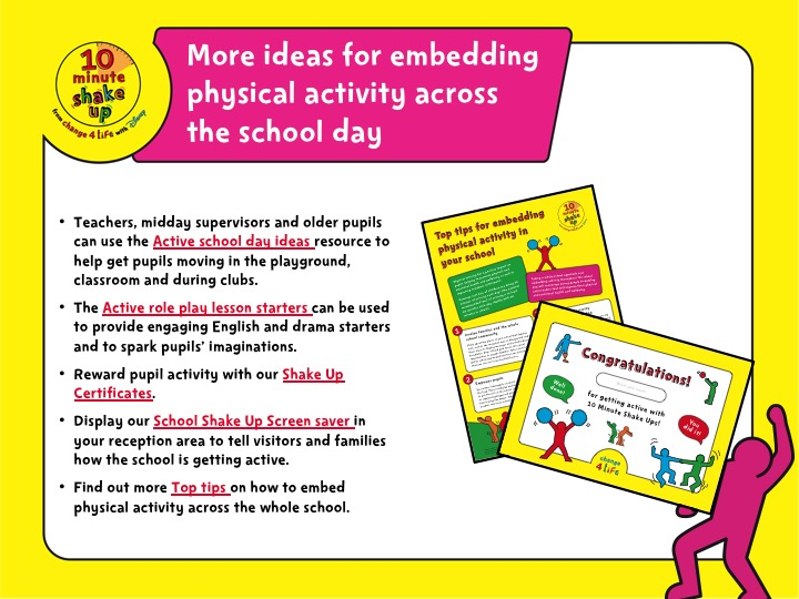 Active school day – whole-school assembly PowerPoint