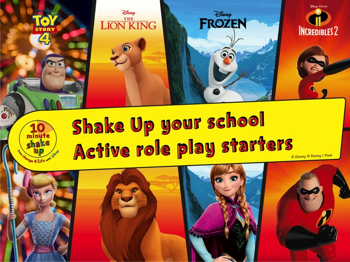 Active role play lesson starters