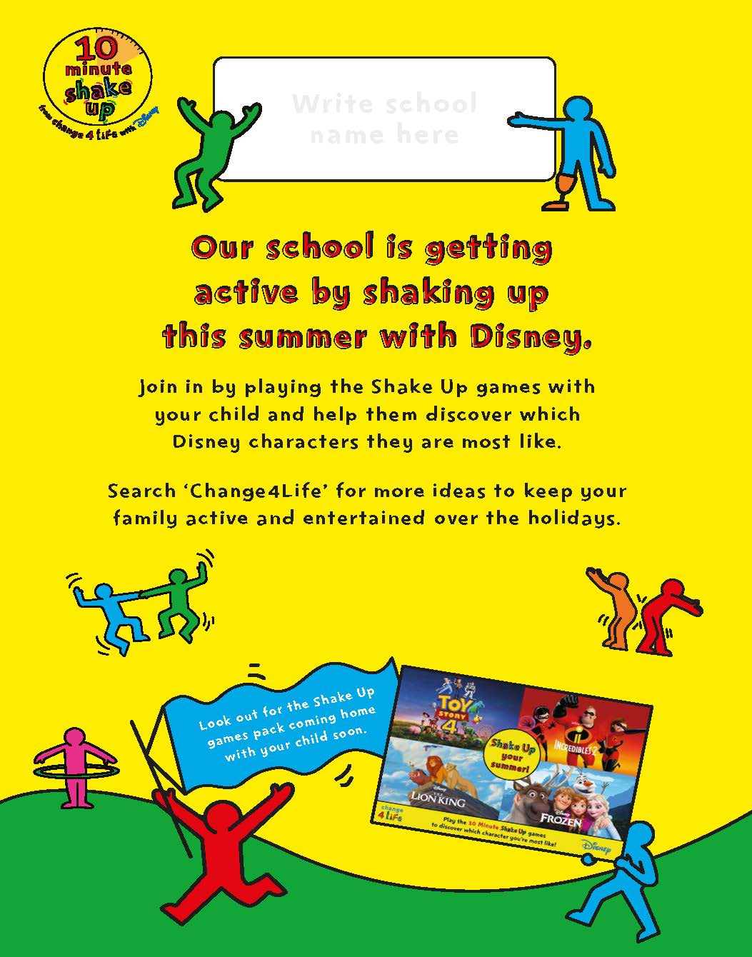 School Shake Up poster