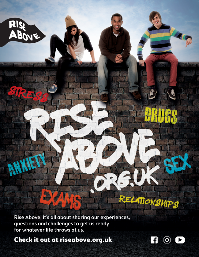 Rise Above promotional poster