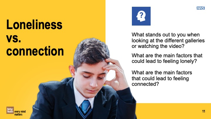 Building Connections KS3 and KS4 lesson plan
