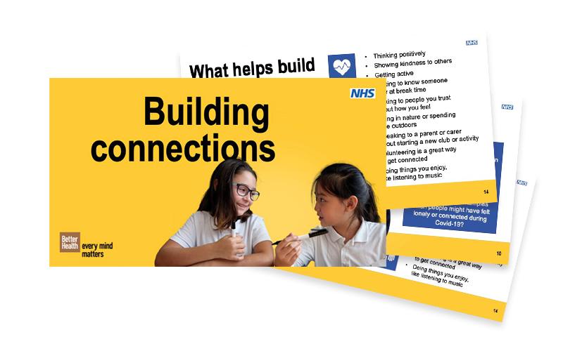 Building connections lesson plan pack