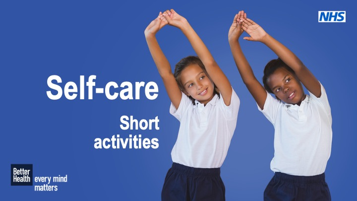 Self care - Year 6 short activities