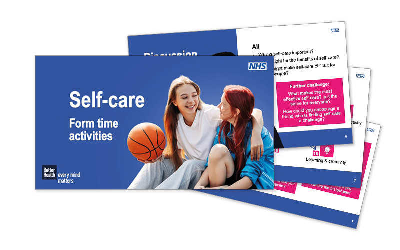 Self-care form time activities