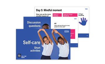 Self-care – Year 6 short activities