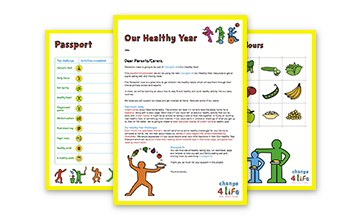 Our Healthy Year: Reception take-home resources