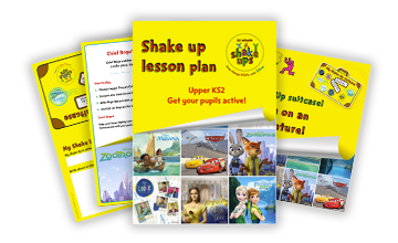10 Minute Shake Up  2017 upper KS2 toolkit