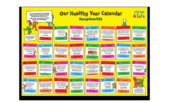 Our Healthy Year: Reception/KS1 calendar