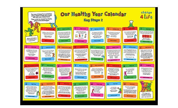 Our Healthy Year: Year 6 calendar