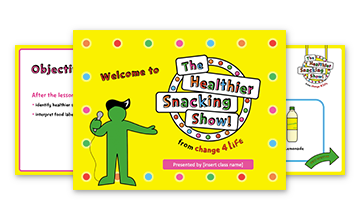 The Healthy Snacking Show: KS1 PowerPoint